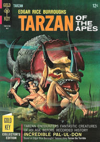 Cover Thumbnail for Edgar Rice Burroughs' Tarzan of the Apes (Western, 1962 series) #167