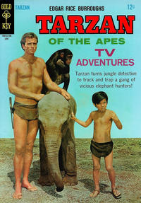 Cover Thumbnail for Edgar Rice Burroughs' Tarzan of the Apes (Western, 1962 series) #168