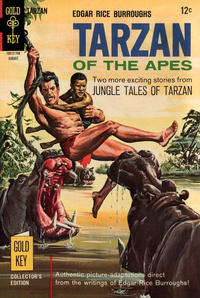 Cover Thumbnail for Edgar Rice Burroughs' Tarzan of the Apes (Western, 1962 series) #170