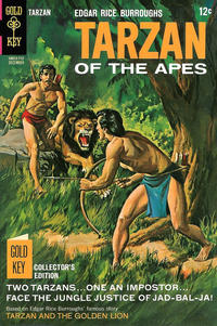 Cover Thumbnail for Edgar Rice Burroughs' Tarzan of the Apes (Western, 1962 series) #173