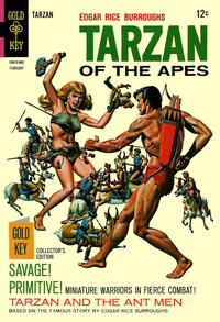 Cover Thumbnail for Edgar Rice Burroughs' Tarzan of the Apes (Western, 1962 series) #174