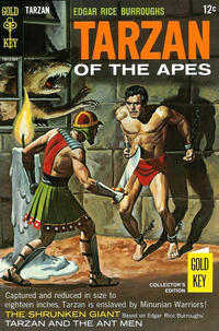 Cover Thumbnail for Edgar Rice Burroughs' Tarzan of the Apes (Western, 1962 series) #175