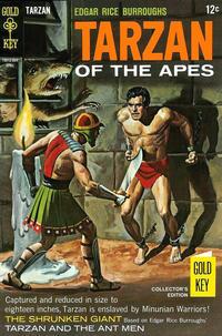 Cover Thumbnail for Edgar Rice Burroughs' Tarzan of the Apes (Western, 1962 series) #175