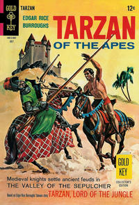 Cover Thumbnail for Edgar Rice Burroughs' Tarzan of the Apes (Western, 1962 series) #177