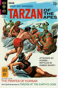 Cover Thumbnail for Edgar Rice Burroughs' Tarzan of the Apes (Western, 1962 series) #181