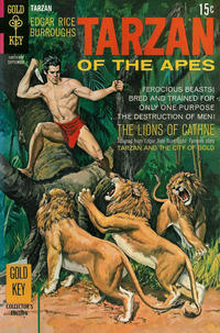 Cover Thumbnail for Edgar Rice Burroughs' Tarzan of the Apes (Western, 1962 series) #187