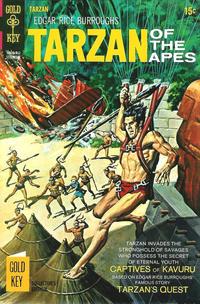 Cover Thumbnail for Edgar Rice Burroughs' Tarzan of the Apes (Western, 1962 series) #189