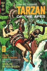 Cover Thumbnail for Edgar Rice Burroughs' Tarzan of the Apes (Western, 1962 series) #193