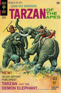 Cover Thumbnail for Edgar Rice Burroughs' Tarzan of the Apes (Western, 1962 series) #197