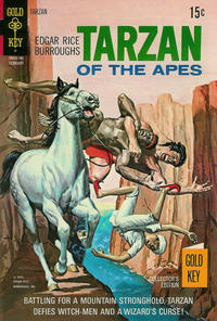 Cover Thumbnail for Edgar Rice Burroughs' Tarzan of the Apes (Western, 1962 series) #198