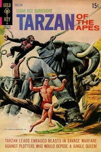 Cover Thumbnail for Edgar Rice Burroughs' Tarzan of the Apes (Western, 1962 series) #203