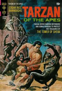 Cover Thumbnail for Edgar Rice Burroughs' Tarzan of the Apes (Western, 1962 series) #204