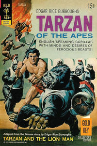 Cover Thumbnail for Edgar Rice Burroughs' Tarzan of the Apes (Western, 1962 series) #206