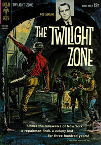 Cover Thumbnail for The Twilight Zone (Western, 1962 series) #2