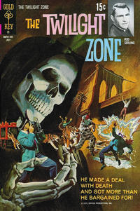 Cover Thumbnail for The Twilight Zone (Western, 1962 series) #38