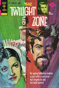 Cover Thumbnail for The Twilight Zone (Western, 1962 series) #58 [Gold Key]