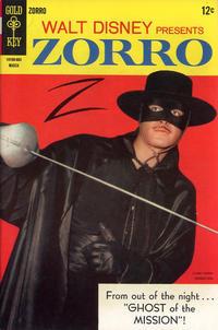 Cover Thumbnail for Walt Disney Presents Zorro (Western, 1966 series) #9