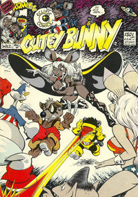 Cover Thumbnail for Army Surplus Komikz Featuring Cutey Bunny (Joshua Quagmire Enterprises, 1982 series) #5
