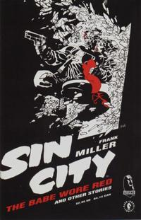 Cover Thumbnail for Sin City: The Babe Wore Red and Other Stories (Dark Horse, 1994 series)