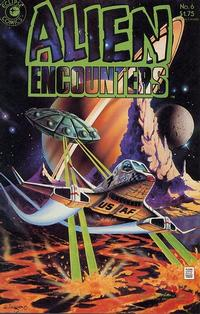 Cover Thumbnail for Alien Encounters (Eclipse, 1985 series) #6