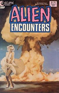 Cover Thumbnail for Alien Encounters (Eclipse, 1985 series) #8