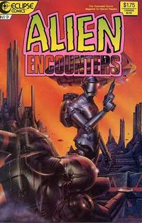 Cover Thumbnail for Alien Encounters (Eclipse, 1985 series) #9
