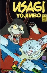 Cover Thumbnail for Usagi Yojimbo (Fantagraphics, 1987 series) #25