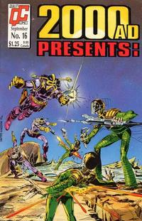 Cover Thumbnail for 2000 A. D. Presents (Fleetway/Quality, 1987 series) #16