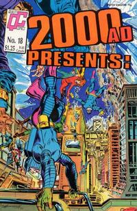 Cover Thumbnail for 2000 A. D. Presents (Fleetway/Quality, 1987 series) #18