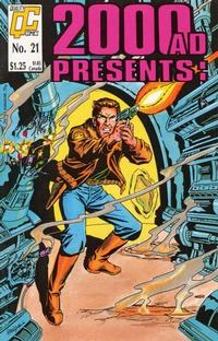 Cover Thumbnail for 2000 A. D. Presents (Fleetway/Quality, 1987 series) #21 [US]