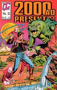 Cover Thumbnail for 2000 A. D. Presents (Fleetway/Quality, 1987 series) #22 [US]