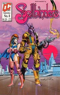 Cover Thumbnail for Spellbinders (Fleetway/Quality, 1987 series) #8