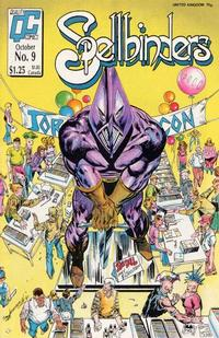 Cover Thumbnail for Spellbinders (Fleetway/Quality, 1987 series) #9