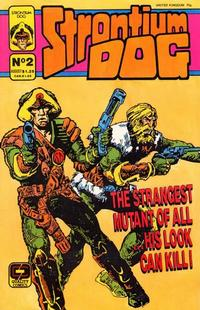 Cover Thumbnail for Strontium Dog (Fleetway/Quality, 1987 series) #2