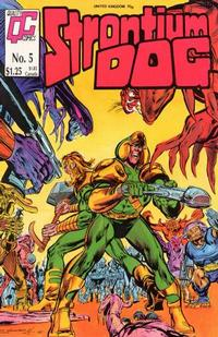 Cover Thumbnail for Strontium Dog (Fleetway/Quality, 1987 series) #5