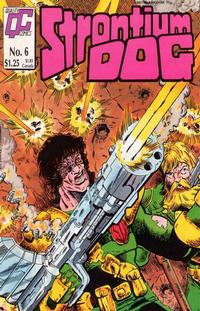 Cover Thumbnail for Strontium Dog (Fleetway/Quality, 1987 series) #6