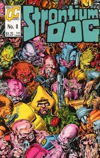 Cover for Strontium Dog (Fleetway/Quality, 1987 series) #8 [US]