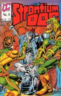 Cover Thumbnail for Strontium Dog (Fleetway/Quality, 1987 series) #9 [US]