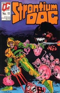 Cover Thumbnail for Strontium Dog (Fleetway/Quality, 1987 series) #11 [US]