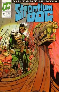 Cover Thumbnail for Strontium Dog (Fleetway/Quality, 1987 series) #13 [US]