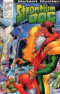 Cover Thumbnail for Strontium Dog (Fleetway/Quality, 1987 series) #21