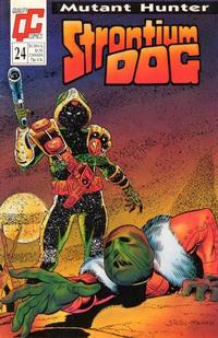 Cover Thumbnail for Strontium Dog (Fleetway/Quality, 1987 series) #24