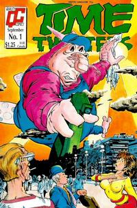 Cover Thumbnail for Time Twisters (Fleetway/Quality, 1987 series) #1