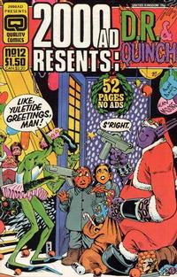 Cover Thumbnail for 2000 AD Presents (Quality Periodicals, 1986 series) #12