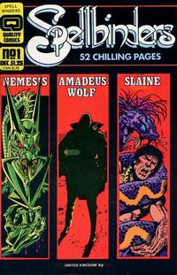 Cover Thumbnail for Spellbinders (Quality Periodicals, 1986 series) #1