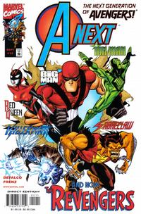 Cover Thumbnail for A-Next (Marvel, 1998 series) #12