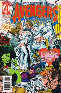 Cover Thumbnail for Avengers Unplugged (Marvel, 1995 series) #4 [Direct Edition]