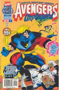 Cover Thumbnail for Avengers Unplugged (Marvel, 1995 series) #5 [Direct Edition]