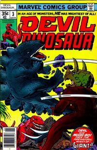 Cover Thumbnail for Devil Dinosaur (Marvel, 1978 series) #3