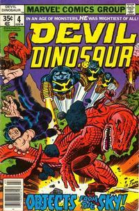 Cover Thumbnail for Devil Dinosaur (Marvel, 1978 series) #4